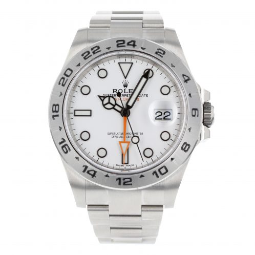 Rolex Explorer II 42mm White Dial