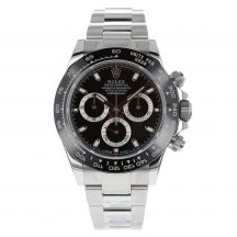 Rolex Daytona In Stainless Steel Black Dial