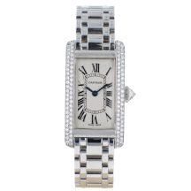 Cartier Tank Americaine 18ct White Gold
