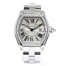 Cartier Roadster Ladies Diamond Set