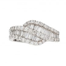Princess & Baguette Diamond Ring 1.30ct