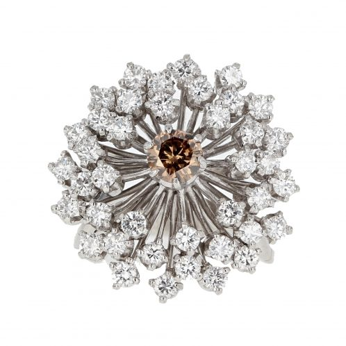 Diamond Cluster Ring 2.25ct