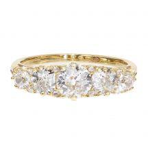 Circa 1900's 5 Stone Diamond Ring