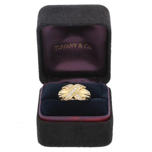 Tiffany & Co 'Kiss' Diamond Ring