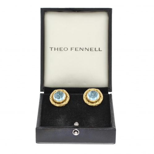 Theo Fennell Aquamarine Earrings