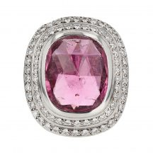 Theo Fennell Pink Tourmaline Ring 15.00ct