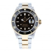 Rolex Submariner Steel and Gold Black Kit