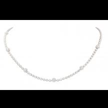 Brilliant Cut Diamond Necklace 5.00ct