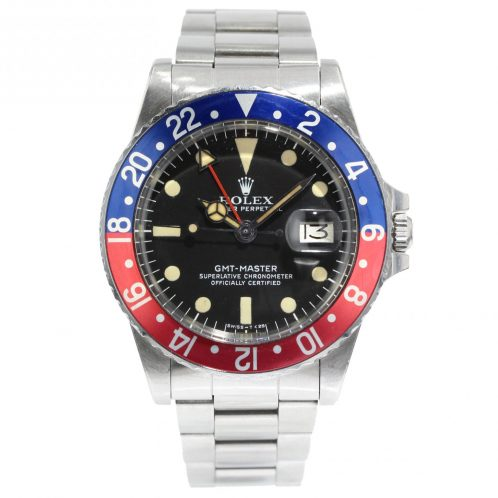Rolex GMT Master Pepsi In Stainless Steel